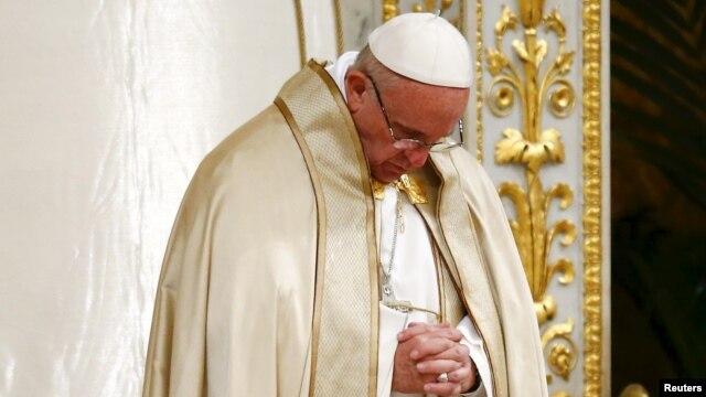 Paus Fransiskus (foto: dok).