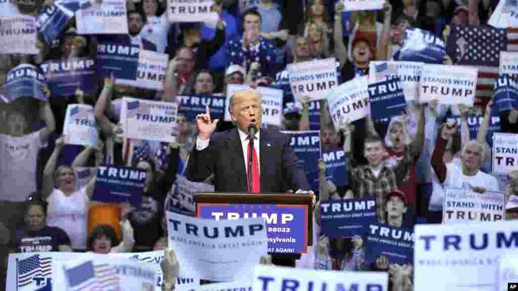 Respublikachi nomzod Donald Tramp