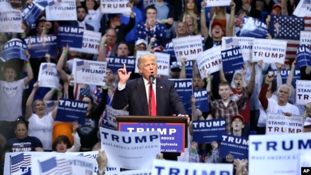 ရီပတ္ဘလီကန္ပါတီ အတြက္ သမၼတေလာင္းအႀကိဳေရြးပြဲ မွာ ယွဥ္ၿပိဳင္ေနတဲ့ ဘီလ်ံနာသူေဌး Donald Trump