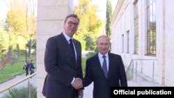 Sastanak lidera Srbije i Rusije u Sočiju (Foto: Official publication)