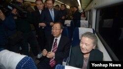 Bivši generalni sekretar Ujedinjenih nacija Ban Ki Mun vratio se u Južnu Koreju