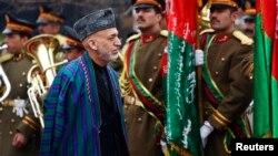 Karzai stuiže na ceremoniju otvaranja četvrte godine rada avganistanskog parlamenta