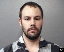 当地执法部门提供的章莹颖绑架案被告布伦特·克里斯滕森的照片。