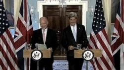 Kerry, Hague Discuss Boosting Support for Syrian Opposition