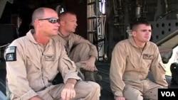Beberapa anggota tentara AS yang bertugas melatih pasukan anti teror di Pakistan.