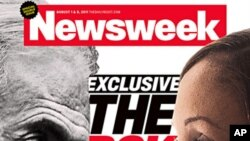 Image provided by Newsweek shows the cover of the magazine's issue featuring Nafissatou Diallo, the maid accusing Dominique Strauss-Kahn of assaulting her in a Manhattan hotel room