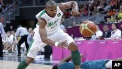 2012년 런던 올림픽 오스트렐리아와 브라질의 남자 농구 예선전 경기