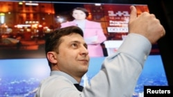 ولادیمیر زلنسکی، کمیدین اوکراینی