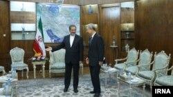 دیدار فرستاده دولت چین با معاون اول رئیس جمهوری ایران