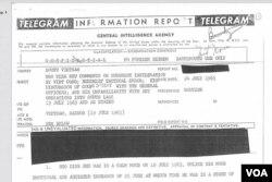 Báo của của CIA ngày 24 tháng Bảy, 1963 trong đó đề cập đến các nhận định của ông Ngô Đình Nhu về vấn đề Việt Cộng xâm nhập Phật Giáo.