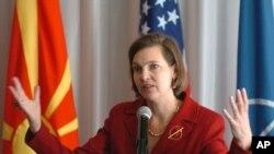 La vocera del Departamento de Estado de EE.UU., Victoria Nuland, dijo que espera que los responsables de la violencia sean llevados a la justicia.