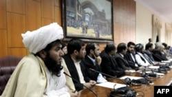 Các nhà lập pháp Afghanistan trong một phiên họp tại Kabul (ảnh tư liệu)