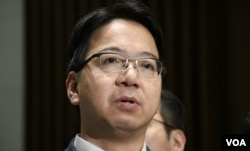 香港資訊科技界立法會議員莫乃光。(美國之音湯惠芸)