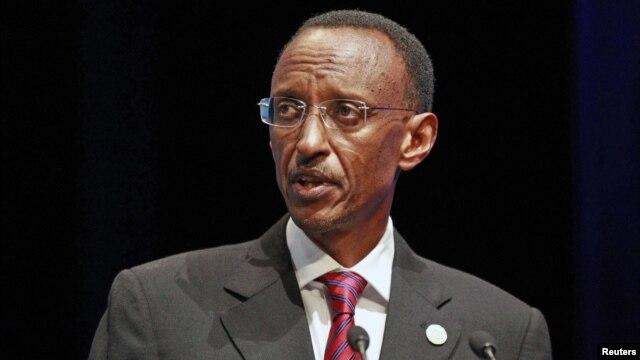 Rwanda's President Paul Kagame, October 26, 2011.
