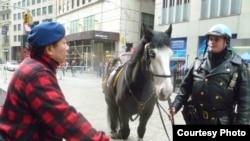 北美崔哥2011年10月采访纽约街头警察