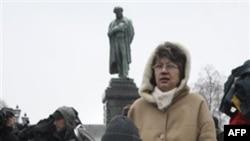 Михаил Бекетов на митинге на Пушкинской площади в Москве. 21 ноября 2010 года