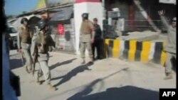 Поліцейські патрулюють вулиці міста Хар, де стався вибух