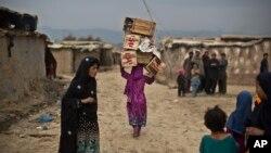 اکثر جمعیت بیجا شدۀ افغانستان در شهرها روآورده اند
