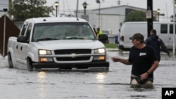 Prizor s ulica New Orleansa, u subotu, 3. rujna 2011.