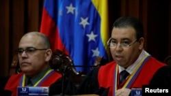 委內瑞拉最高法院裁決,全國代表大會任命一大派新法官的舉動違憲 (2017年7月21日)