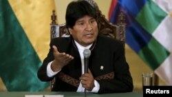 """El presidente Evo Morales atribuyó la baja de su caudal electoral respecto a comicios anteriores a una """"guerra sucia"""" opositora y aseguró que es prematuro pensar en su sucesor."""