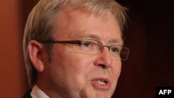Thủ tướng Australia Kevin Rudd nói rằng những thay đổi lớn nhất sẽ là chấm dứt viện trợ tài chính trực tiếp cho Trung Quốc và Ấn Độ