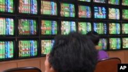 台湾民众关注股市最新信息