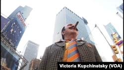 Вилли Токарев на Таймс-сквэр