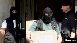 Las autoridades españolas han hecho más detenciones durante los últimos años. Esta es en el 2012.