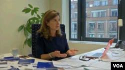 کاترین بومبرگر، رئیس نهاد بین المللی ردیابی افراد ناپدید شده