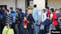 آلمان تا آخر سال روان برای ورود ۸۰۰ هزار پناهجو آمادگی می گیرد