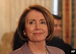 La présidente de la Chambre, la démocrate Nancy Pelosi