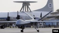 Pesawat tak berawak Amerika (Drone) dikabarkan telah menewaskan sedikitnya 12 tersangka militan di Yaman (Foto: dok).