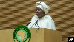 La présidente de la Commission de l'Union africaine, Nkosazana Dlamini-Zuma