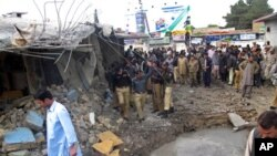 کوئٹہ میں خودکش بم دھماکا