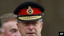 British Defense Chief General David Richards (file photo)