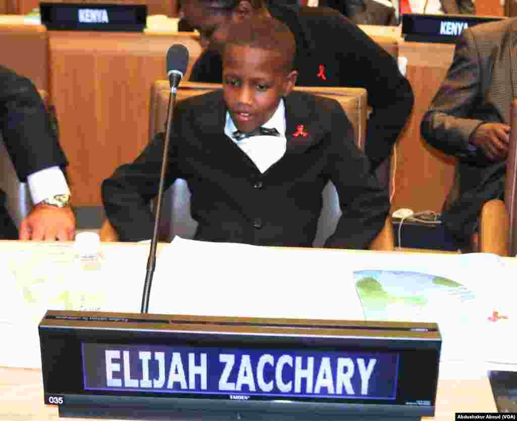 Elijah Zacchary kijana wa Kenya anaeishi na HIV Balozi wa Vijana