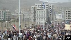 یمن کے کئی شہروں میں احتجاج: صالح کی معزولی کا مطالبہ