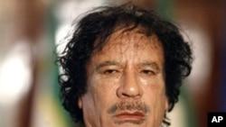 사망한 리비아 전 국가지도자 무아마르 가다피