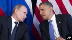 ژوئن ۲۰۱۲، اوباما و پوتین