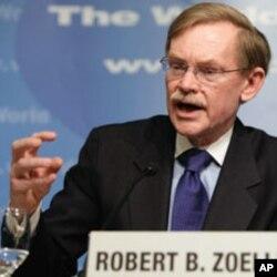 عالمی بنک کے صدر رابرٹ زیلک