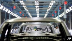 Pabrik perakitan mobil Honda di Greater Nodia, 35 kilometer dari New Delhi, India. (Foto: dok).