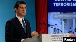 PM Manuel Valls mengatakan, Perancis akan menciptakan 2.680 pekerjaan baru di bidang keamanan (foto: dok).