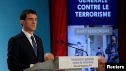 法國總理瓦爾斯 (資料照片)