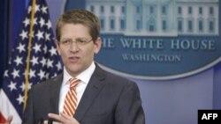 Пресс-секретарь Белого дома Джей Карни. Вашингтон. 2 марта 2011 года