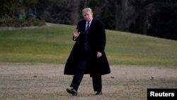 Президент США Дональд Трамп (архивное фото)
