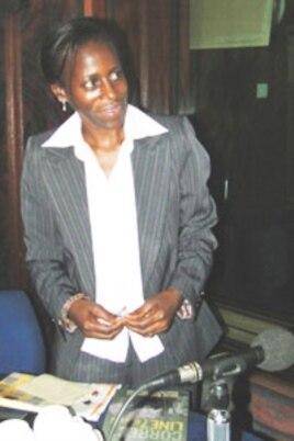 Ugandan author Olive Kobusingye