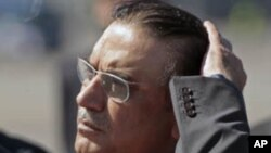 Pakistan President Asif Ali Zardari (file photo).