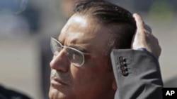 Pakistan President Asif Ali Zardari (file photo).