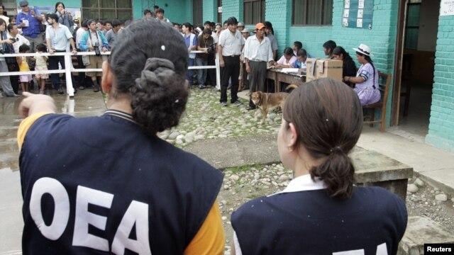 La OEA mantiene Grupos de Trabajo en diferentes áreas de los países miembros para maximizar la unidad de la organización.